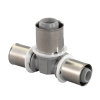 Uponor MLC composiet pers verloop T-stuk, 50 x 40 x 50 mm