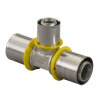Uponor MLC-G gas pers T-stuk, verlopend, 32 x 25 x 25 mm