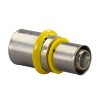 Uponor MLC-G gas perskoppeling verlopend, 25 x 20 mm