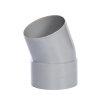 Pipelife hwa bocht 22°, pvc, inwendig lijm x spie, grijs, 80 mm