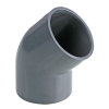 Pimtas PVC-Winkel 45°, 2x Innenverklebung, 16bar, 75 mm