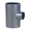 Pimtas T-Reduzierstück 90°, PVC, 3x Innenverklebung, 16bar, 110x 90 mm