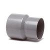 NP hwa verloopstuk, pvc, inwendig x uitwendig spie, grijs, 60 x 70 mm