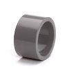 Hwa verloopring, pvc, inwendig x uitwendig lijm, grijs, 80 x 100 mm