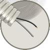 Snelflex voorbedrade flexibele buis 16mm, 2x 1,5 mm² (zw), rol à 100 m, Eca