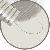 Snelflex voorbedrade flexibele buis 25mm, met trekdraad 1 mm, rol à 50 m  detailimage_001 100x100