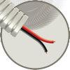 Snelflex voorbedrade flexibele buis met luidsprekerkabel, 16 mm, LS 2x 0,75 mm, 100 m
