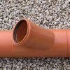 Airfit klemzadel, klem x manchet, pvc, roodbruin, 45°, 110 x 90 mm