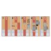 Airfit inzet verloop T-stuk 87°, pp, verjongd spie/3x manchet, grijs, 110 x 75 mm