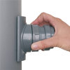 Airfit pp schroefaftakking, klem x manchet, grijs, 90 x 50 mm  detailimage_005 100x100
