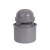 Airfit Automatischer PP-Belüfter, grau, 75 mm