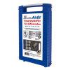 Airfit koffer, incl. reparatiepluggen + rvs slangklemmen voor rioolbuizen, 40/50/75/90/110/125 mm