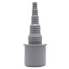 Airfit pp overgang buis x slangtule, recht, grijs, 40 x 25-8 mm slangtule