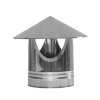 Dinak DW/DW hout, rookgasafvoer regenkap, type 010, 180 mm