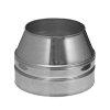 Dinak DW/DW pellets, rookgasafvoer eindstuk, conisch, type 011, 100 mm