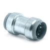 VSH Tectite koppeling, staalverzinkt, 2x steek, type TC1, 22 mm