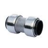 VSH Tectite overschuifkoppeling, rvs, 2x push, 22 x 22 mm, type TS270S