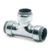VSH Tectite T-stuk, staalverzinkt, 3x push, type TC24, 15 mm