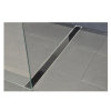 W-drain glasrooster t.b.v. douchegoot, zwart, l = 900 mm  detailimage_002 100x100
