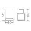 Eris glashouder met glas, chroom  detailimage_001 100x100