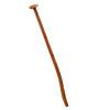 Talen Tools schopsteel, dubbel gebogen, gewaxt essenhout, l = 110 cm