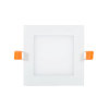 Adurolight® Premium Quality Line platte led downlight, vierkant, Ken, wit, 12 W, 3000 K