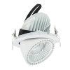 Adurolight® Premium Quality Line led Downlight Gimbal, Robin, wit, 45 W, 3000 K