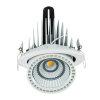 Adurolight® Premium Quality Line led Downlight Gimbal, Robin, wit, 45 W, 3000 K  detailimage_001 100x100
