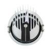 Adurolight® Premium Quality Line led Downlight Gimbal, Robin, wit, 45 W, 3000 K  detailimage_005 100x100