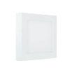 Adurolight® Premium Quality Line led plafond lamp, Rudolf 300, vierkant, 24 W, 4000 K