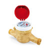 "Watermeter MTWD-N, Q3, 2.5 m3/h, ¾"" bu.dr., l=165 mm, tot 90°C, voorbereid impulsgever 1 l/impuls"