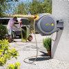 Hozelock Flowmax AutoReel, zelfoprollende slanghaspel, incl. 30 m slang, startset en tuinspuit