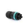 Techno mini connector socket, 4-polig, 0.5 - 2.5 mm² - 7.0 - 12 mm, IP68