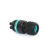 Techno mini connector socket, 4-polig, 0.5 - 2.5 mm² - 7.0 - 12 mm, IP68  detailimage_001 100x100