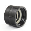 "BD IBC adapter, pp, type FF, S60-6 x 2"", binnendraad, zwart + epdm afdichting"