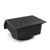 Gietijzeren trottoirkolk, exclusief onderbak, 2-delig, dicht deksel, BS 453 LD /OB 315, 450 x 450 mm  detailimage_001 100x100