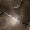 Sanidrain douchegoot abs, inclusief rvs plano afdekrooster, l = 600mm