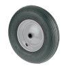 TENTE luchtband met lijnprofiel, wielkern: geperst staalplaat, 200 mm, zwart