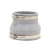 Fernco flexibele verloopkoppeling, 98 - 114 x 75 - 87 mm, grijs