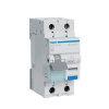 Hager aardlekautomaat 1-polig+N, 16 A - 30 mA, C-karakteristiek, 6 kA, klasse A, 230 V