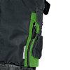 Cerva Allyn werkbroek, zwart/groen, maat 48