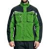 Cerva Allyn werkjas, zwart/groen, maat 46