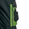 Cerva Allyn bretelbroek, zwart/groen, maat 46  detailimage_003 100x100