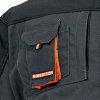 Cerva Emerton pilotjack, zwart, maat S