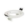 Adurolight® inbouwspot, kantelbaar, wit, excl. lamp