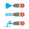 Hozelock spuitpistool, Ultramax Jet Spray, metaal, 3 sproeistanden  detailimage_004 100x100