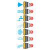Hozelock broespistool, kunststof, Multispray Pro, 7 sproeistanden