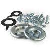 Ebara flenzenset, incl. bouten, moeren en epdm pakkingen, serie 3D/MD/MMD 32 x 50