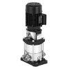 Ebara verticale meertraps centrifugaalpomp, type EVMS 3-12 N5, ovaalflens (N), 1.10 kW, 3x230/400 V