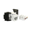 Radiall modulaire connector, cat 6, wit